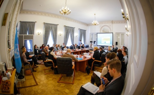 Thumbnail for - 19 марта в Информационном центре ООН пройдёт круглый стол «Современные тенденции продвижения КСО: российский и зарубежный опыт»