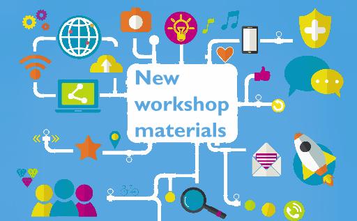 new workshop materials
