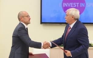 Thumbnail for - Компания Wrigley подписала инвестиционное соглашение с Санкт-Петербургом
