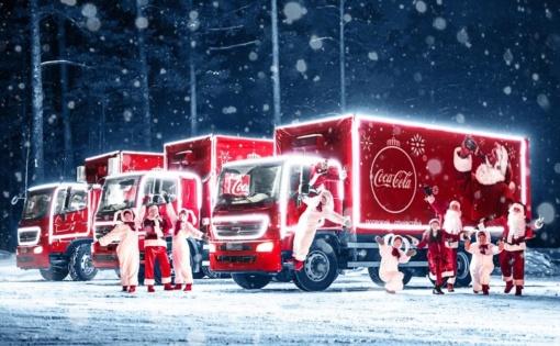 Thumbnail for - В отель «Метрополь» на специальное инклюзивное мероприятие приедет «Рождественский Караван» Coca-Cola в России